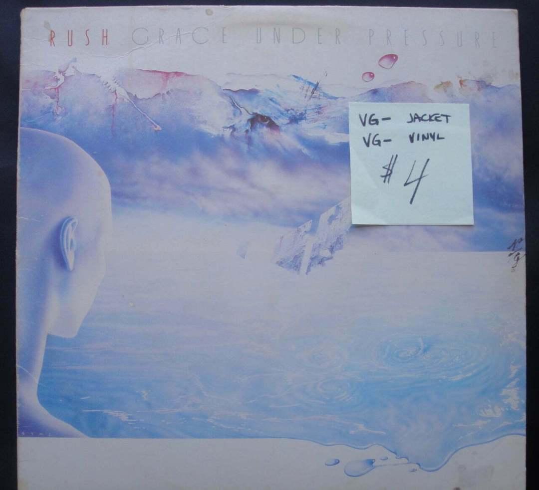 Rush - Grace Under Pressure Vinyl