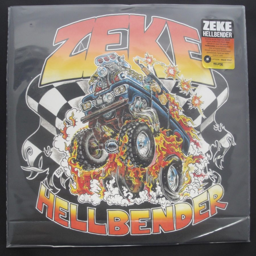 Zeke - Hellbender - Black Vinyl, LP, Relapse Records, 2018
