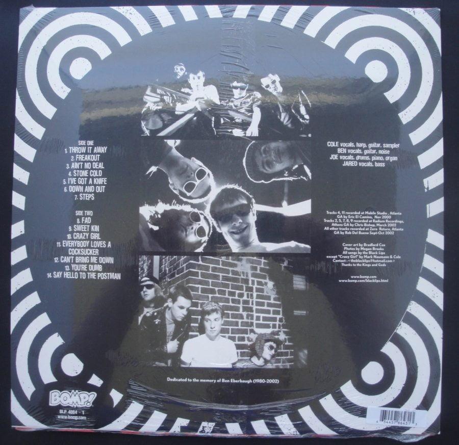 Black Lips - Black Lips - Ltd Ed Starburst Colored Vinyl, LP, Bomp, 2018