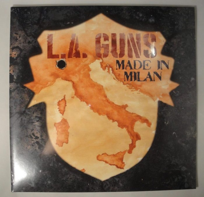 L.A. Guns - Made In Milan - Ltd Ed, 180 Gram, Double Vinyl, LP, 2018