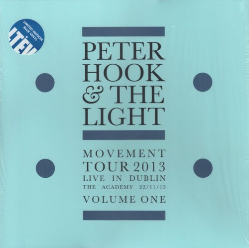 Peter Hook & The Light - Movement - Live In Dublin - Volume One, Ltd Ed, Blue, Colored Vinyl