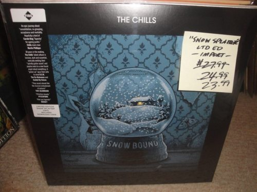 The Chills - Snowbound - Limited Edition, Snow Splatter, Colored Vinyl, 2018