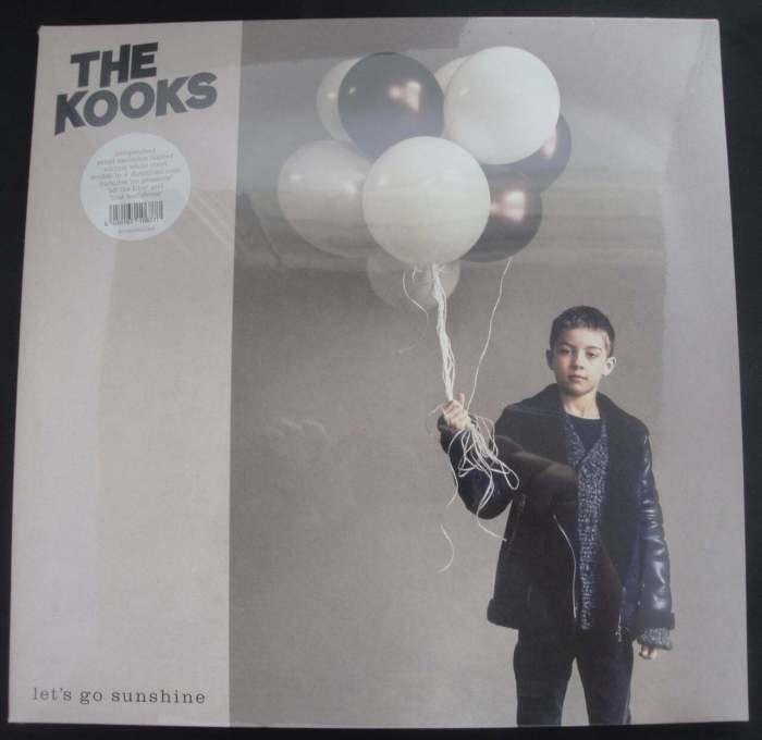 The Kooks - Let's Go Sunshine - Ltd Ed White Double Vinyl, Lonely Cat, 2018