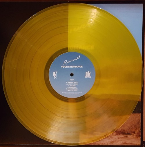 Roosevelt - Young Romance - Limited Edition, Yellow Sun Colored Vinyl, City Slang, 2018