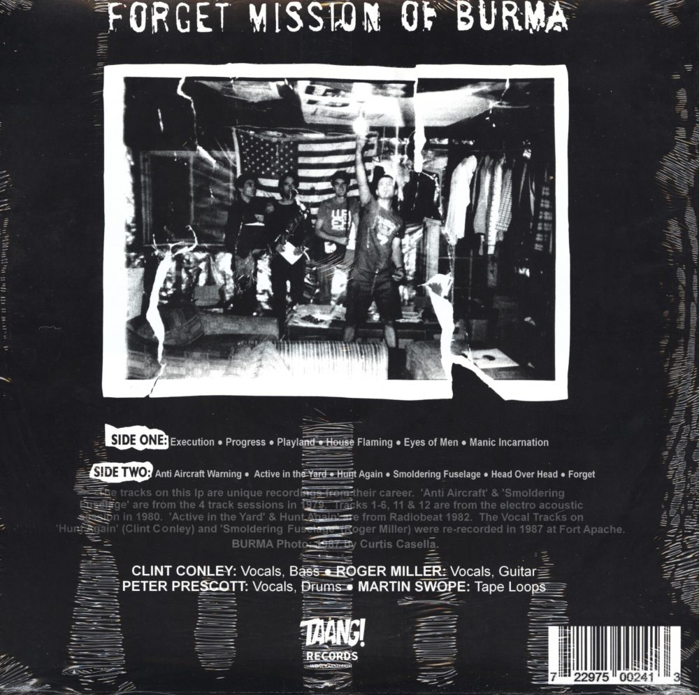 Mission Of Burma - Forget - Vinyl, LP, Reissue, Taang Records, 2018