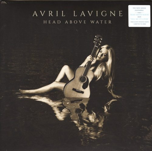 Avril Lavigne - Head Above Water - Ltd Ed, White Vinyl, LP, BMG, 2019