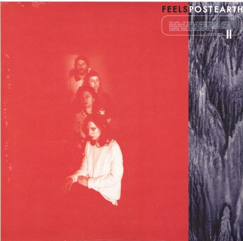 Feels - Post Earth - Ltd Ed Red Colored Vinyl, Wichita Records, 2019