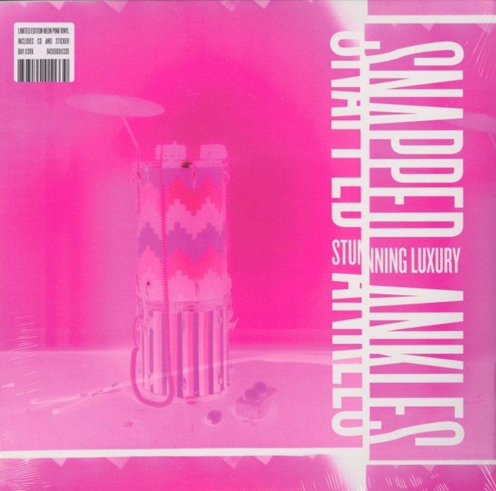 Snapped Ankles - Stunning Luxury - Ltd Ed Pink Vinyl, LP, w CD, Leaf, 2019