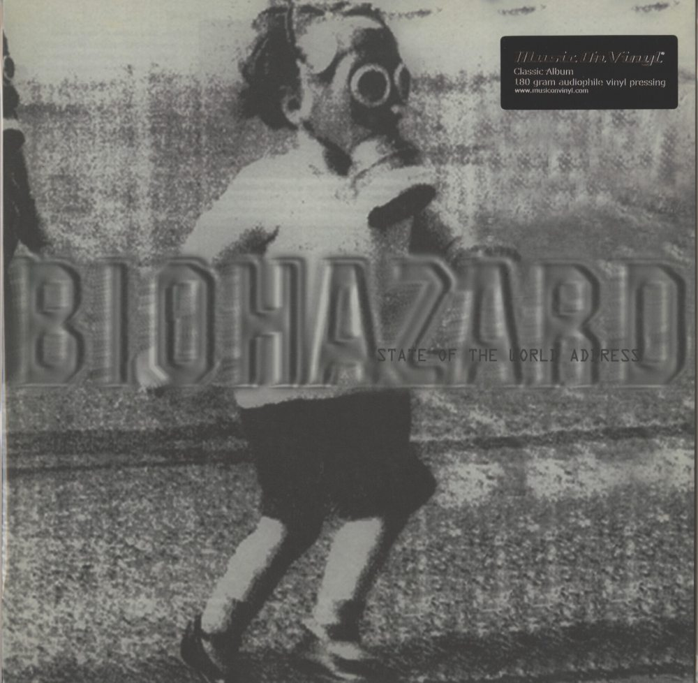 Biohazard - State Of The World Address - 180 Gram, Vinyl, LP, Reissue, M.O.V., 2019