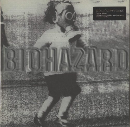 Biohazard - State Of The World Address - 180 Gram, Vinyl, LP, Reissue, M.O.V., 2019