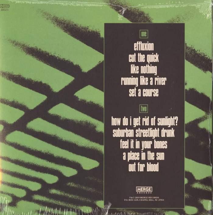 Telekinesis - Effluxion - Ltd Ed, Green, Colored Vinyl, Merge Records, 2019