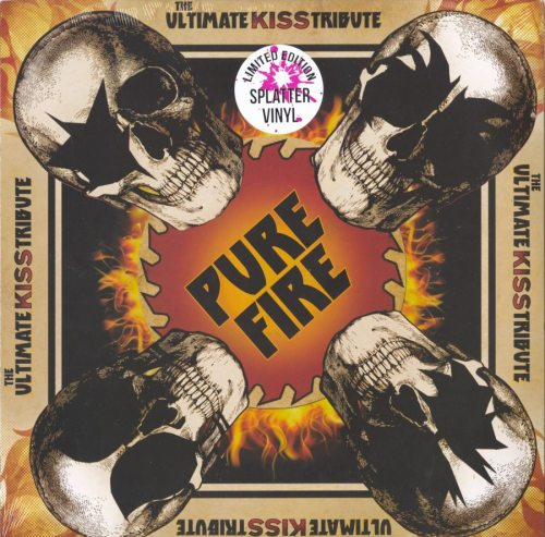Various Artists - Pure Fire - The Ultimate Kiss Tribute - Ltd, Colored Vinyl, LP, Deadline Music, 2019
