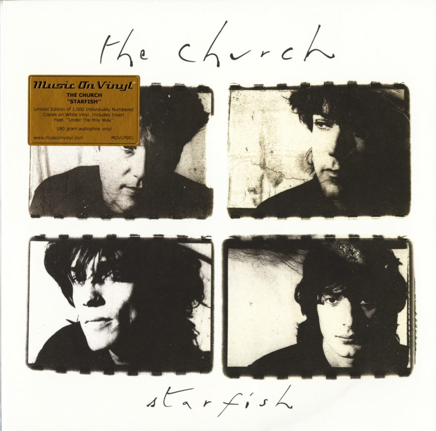 The Church - Starfish - Ltd Ed, White, Colored Vinyl, Numbered, Music On Vinyl, 2019