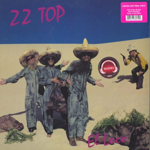 ZZ Top - El Loco - Limited Edition, Pink, Colored Vinyl, Reissue, 2019