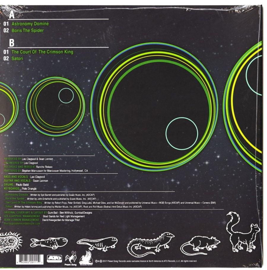 "The Claypool Lennon Delirium - Lime And Limpid Green - Green Splatter, 10"", Vinyl, EP, ATO Records, 2017"