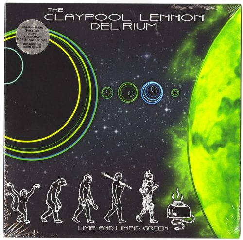 "The Claypool Lennon Delirium - Lime And Limpid Green - Green Splatter, 10"", Vinyl, EP, ATO Records, 2017"