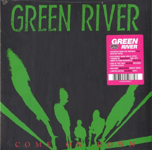 Green River - Come On Down - Limited, Pink, Colored Vinyl, Remastered, Jackpot Records, 2018