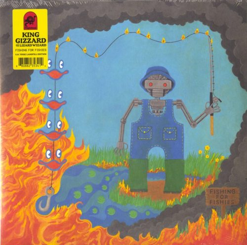 King Gizzard and the Lizard Wizard - Fishing For Fishies - U.S. Toxic Landfill Colored Vinyl, LP, Ato, 2019