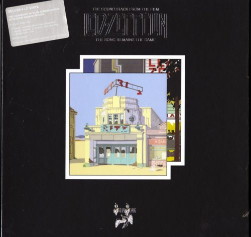Led Zeppelin - The Song Remains The Same - 4xLP, Vinyl, w 28-page Booklet, Remastered, Box, Atlantic, 2018