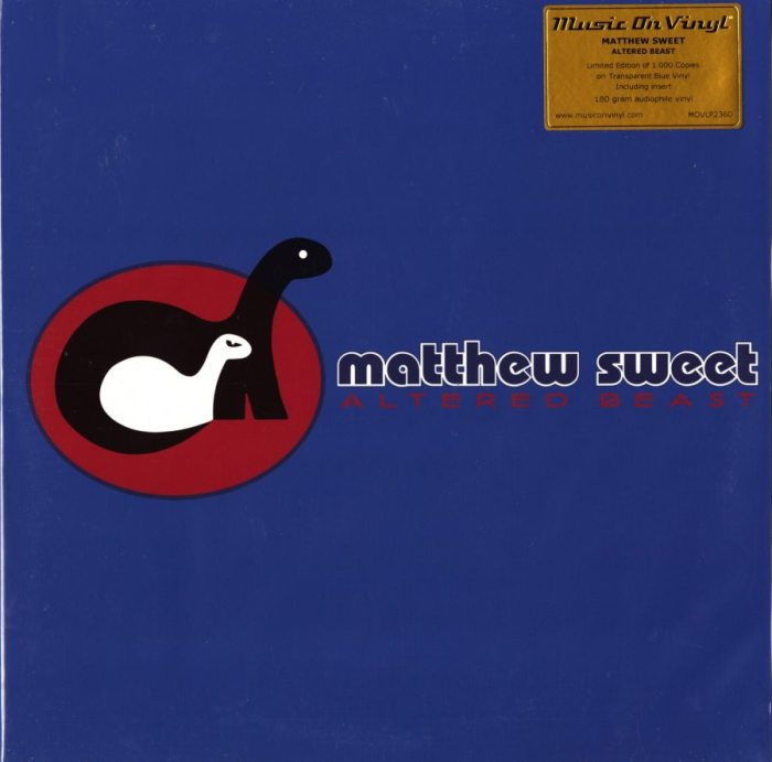 Matthew Sweet - Altered Beast - Limited, Blue Vinyl, Numbered, M.O.V., Import, 2019