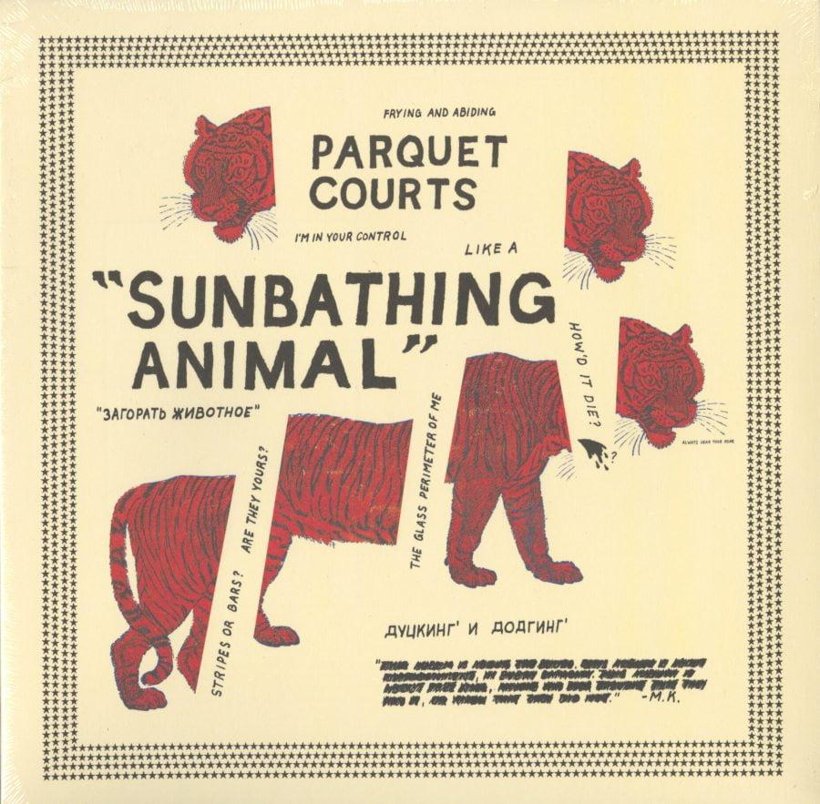 Parquet Courts - Sunbathing Animal - Limited, 5th Anniversary, Orange Vinyl, Gatefold, What's Your Rupture?, 2019