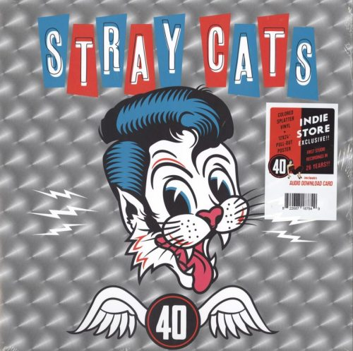 Stray Cats - 40 - Limited Edition, Colored Vinyl, LP, Surfdog Records, 2019