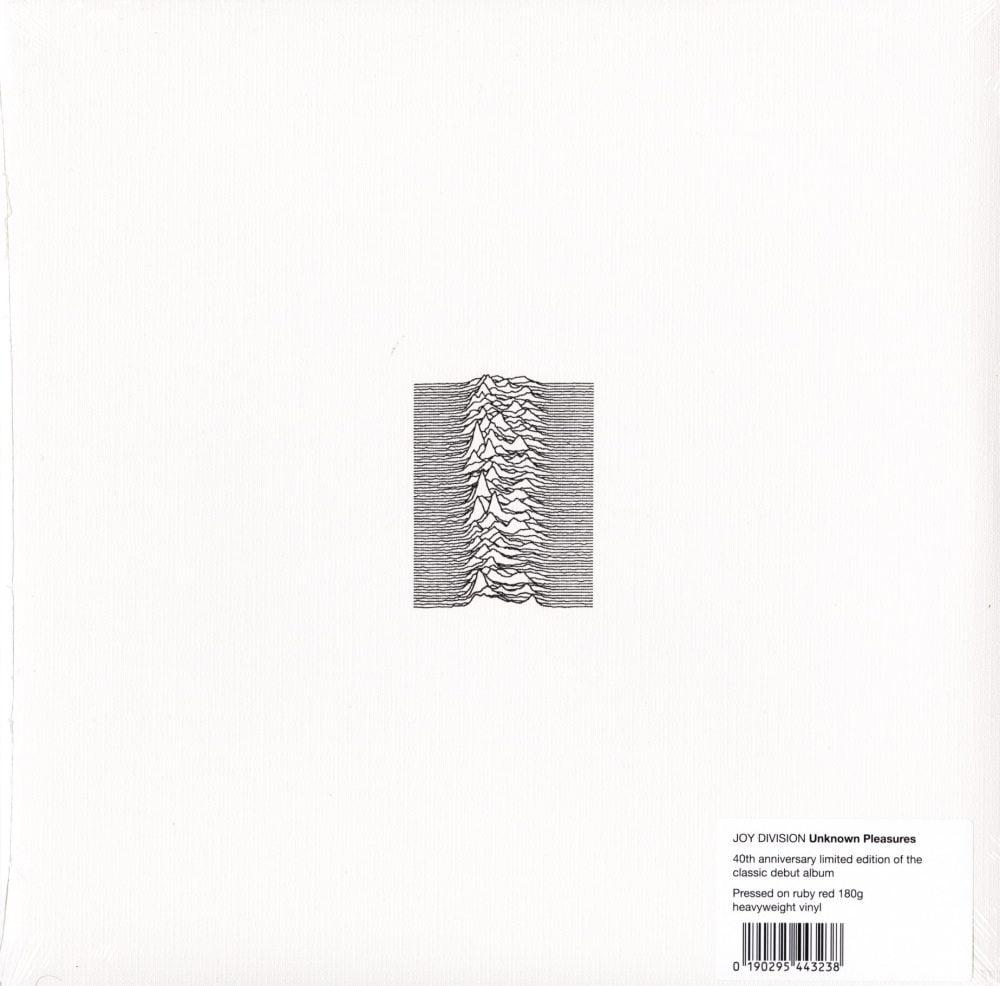 Joy Division - Unknown Pleasures - 40th Anniversary, Red, Colored Vinyl, LP, WEA, 2019