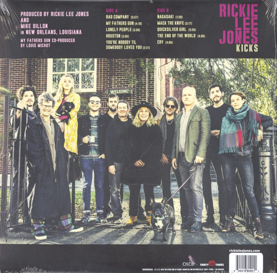 Rickie Lee Jones - Kicks - Limited Edition, Colored Vinyl, LP, The Other Side Of Desire, 2019
