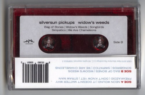 Silversun Pickups - Widow's Weeds - Cassette, New Machine Recordings, 2019