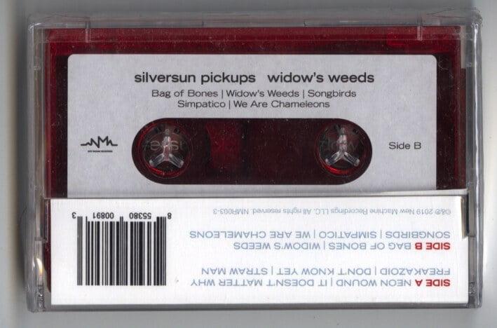 Silversun Pickups - Widow's Weeds - Cassette, New Machine Recordings, 2019