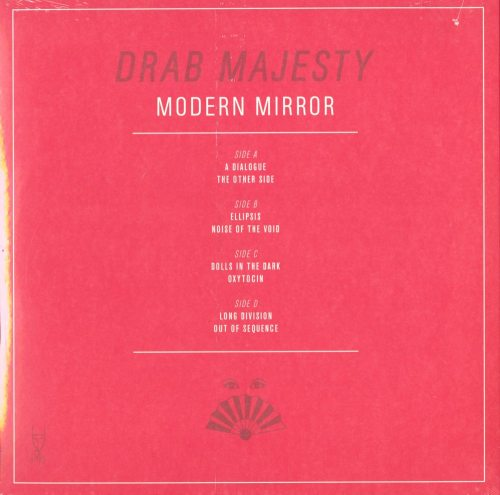 Drab Majesty - Modern Mirror - Limited Edition, Clear Blue Vinyl, LP, Dais, 2019