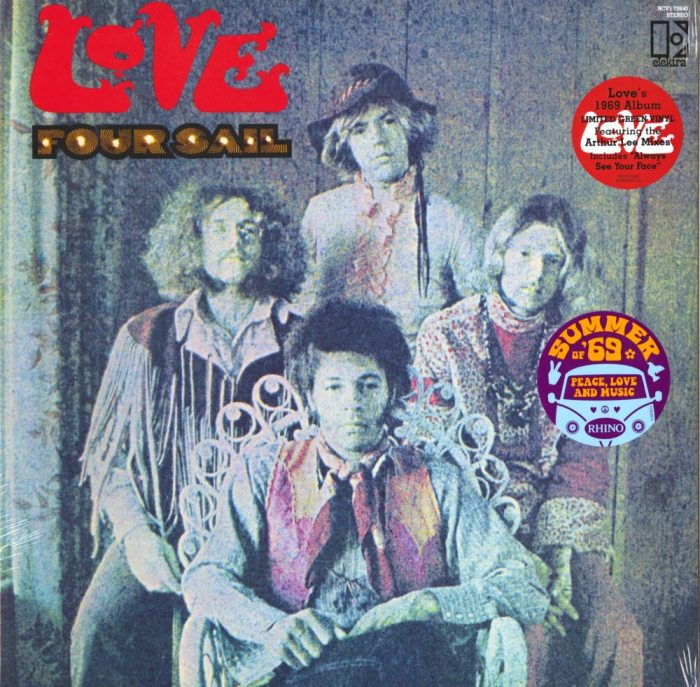 Love - Four Sail - Limited Edition, Green, Colored Vinyl, Reissue, WEA, 2019