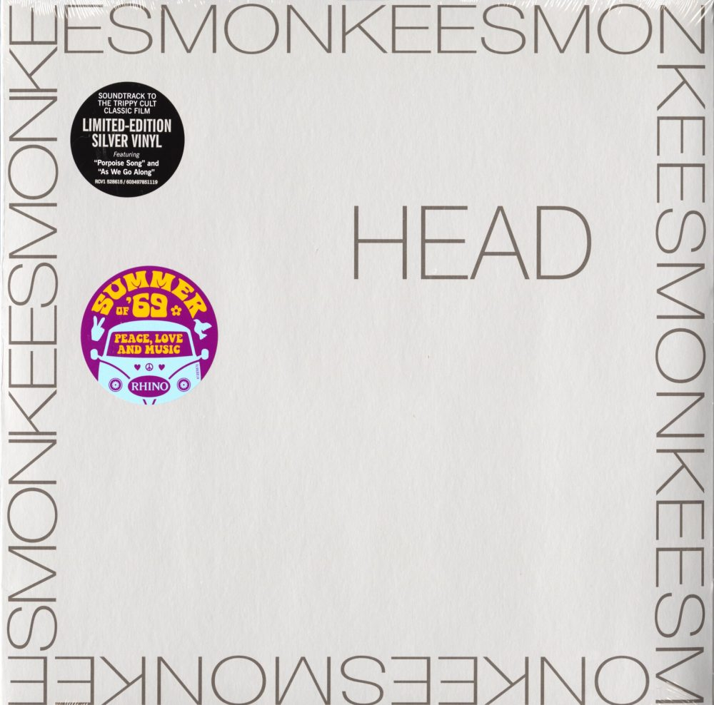 The Monkees - Head - Limited Edition, Silver, Colored Vinyl, LP, Reissue, 2019