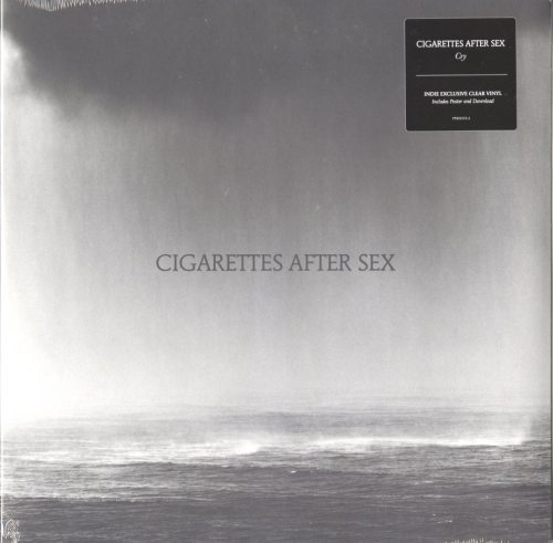 Cigarettes After Sex - Cry - Limited Edition, Clear, Colored Vinyl, Partisan Records, 2019