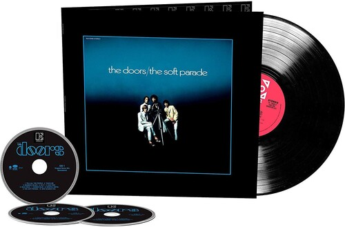 Doors - The Soft Parade (50th Anniversary Deluxe Edition) (3CD/ 1LP) - Pre-Order