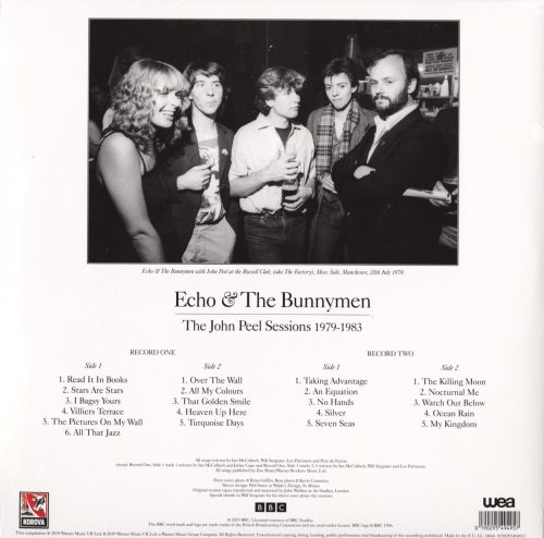 Echo & the Bunnymen - The John Peel Sessions 1979-1983 - Vinyl, LP, Rhino Warner Classic, 2019