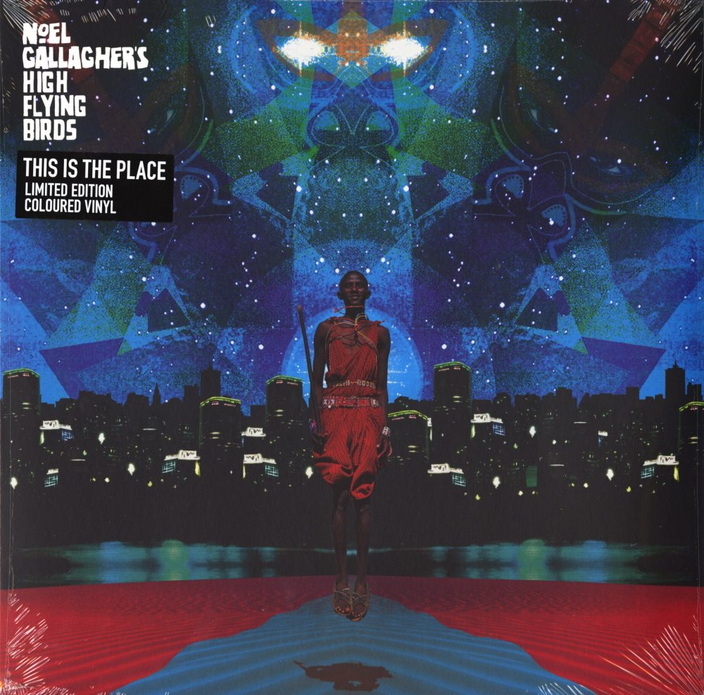 Noel Gallagher's High Flying Birds - This Is The Place EP - Ltd Ed, Colored Vinyl, LP, Caroline, 2019