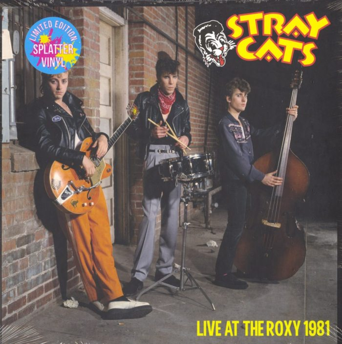 Stray Cats - Live At The Roxy - Splatter Colored Vinyl, LP, Rockabilly Records, 2019