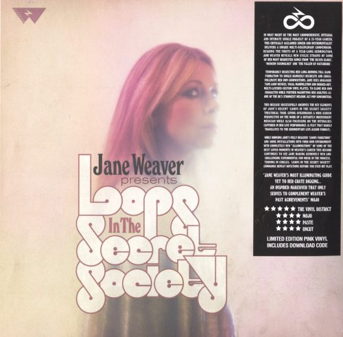 Jane Weaver - Loops In The Secret Society - Ltd Ed, Pink, Colored Vinyl, 2XLP, Fire Records, 2019