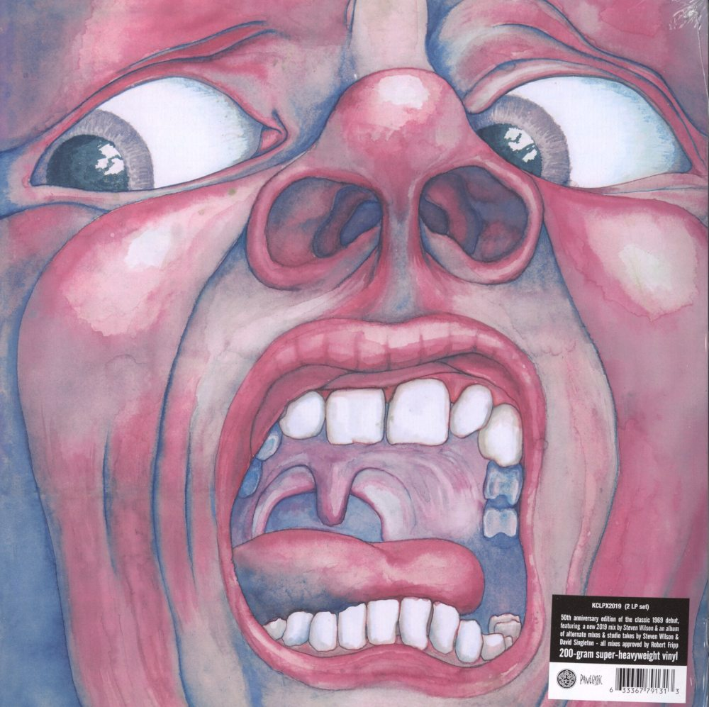 King Crimson - In The Court Of The Crimson King - 50th Ann, 200 Gram Double Vinyl, Panegyric, 2019