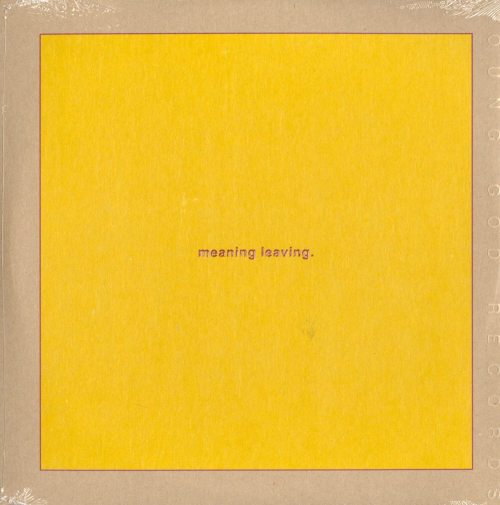 Swans - Leaving Meaning - Double Vinyl, 2XLP, w Poster, Download, Young God Records, 2019