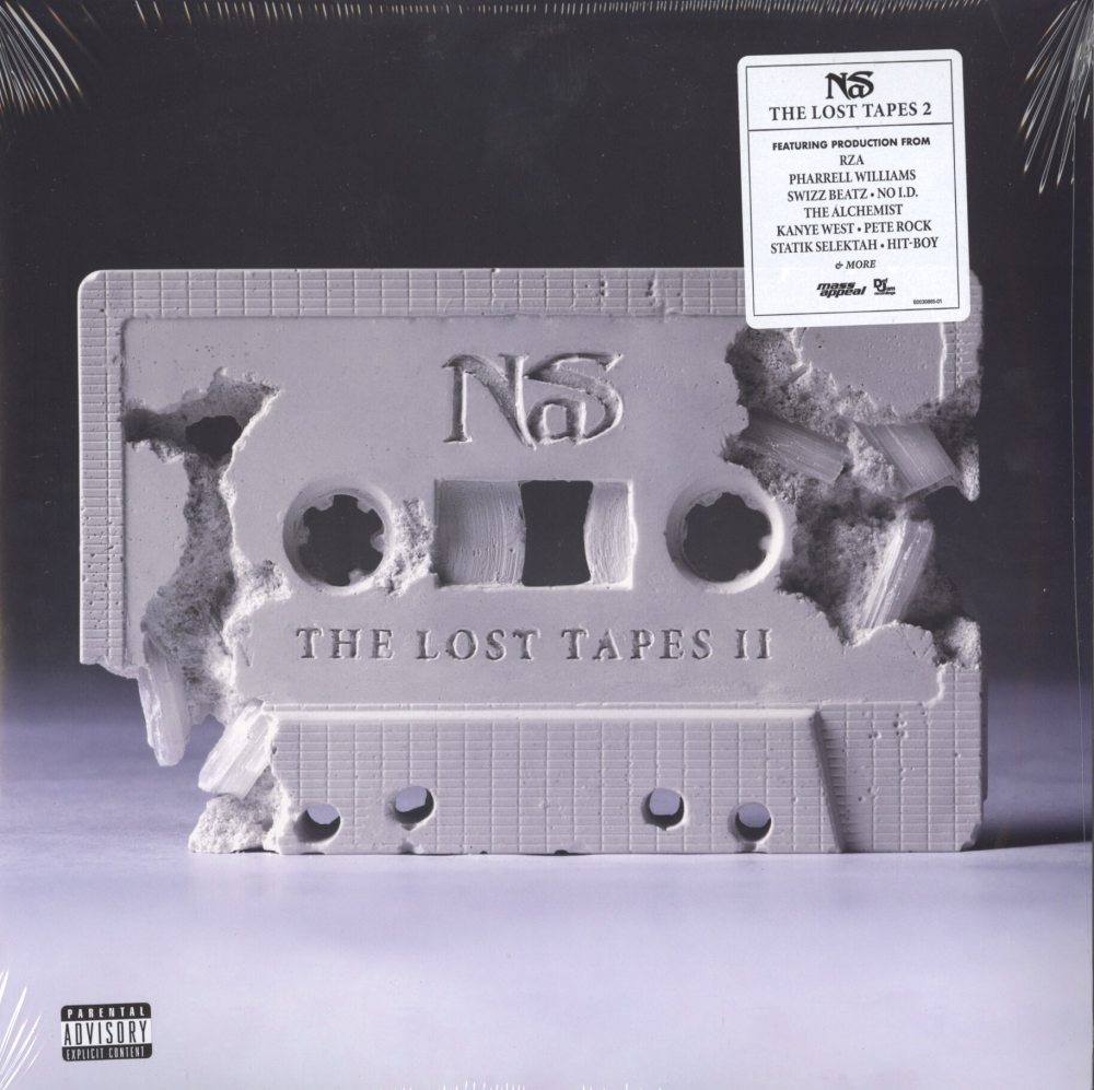 Nas - The Lost Tapes 2 - Double Vinyl, RZA, The Alchemist, Mass Appeal, 2019