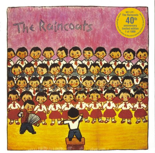 The Raincoats - The Raincoats - 40th Anniversary Edition, Marble, Colored Vinyl, Prints, We Three, 2019