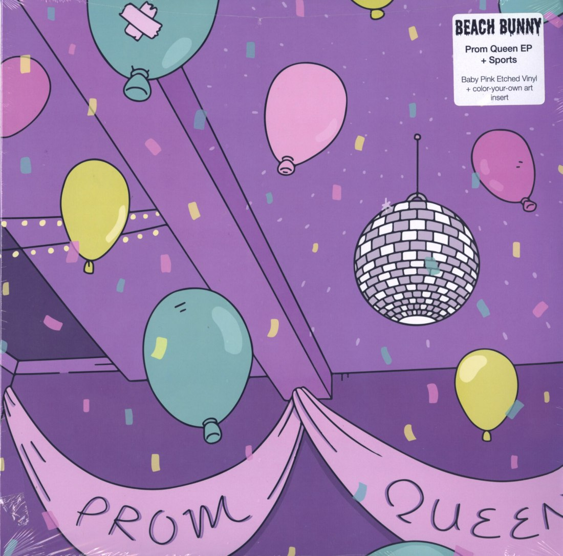 Beach Bunny - Prom Queen/Sports - Vinyl, EP, Mom & Pop, 2020