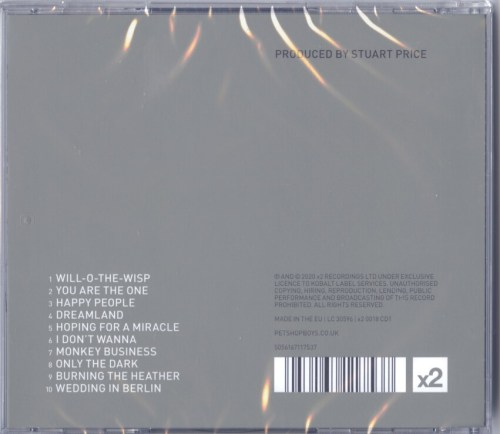 Pet Shop Boys – Hotspot – CD, Compact Disc, X2, Import, 2020, New Release