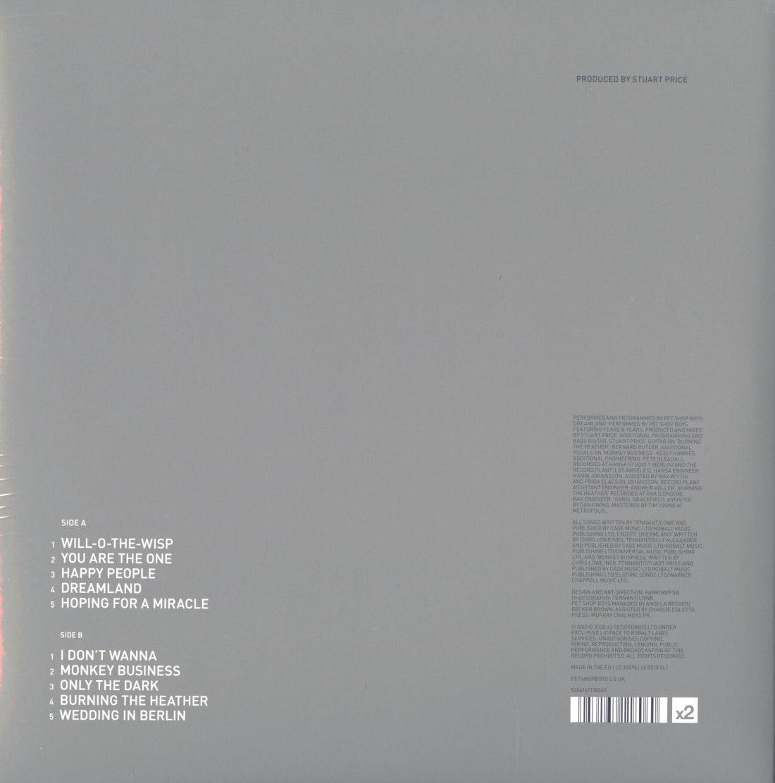 Pet Shop Boys - Hotspot - 140 Gram, Vinyl, Gatefold Jacket, LP, X2, Import, 2020