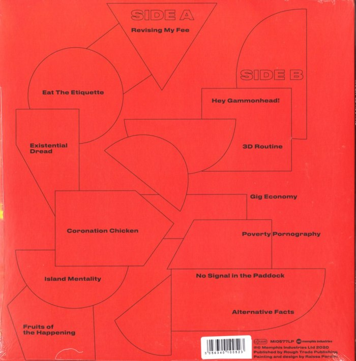 Mush - 3D Routine - Limited Edition, Orange, Colored Vinyl, Memphis Industries, 2020
