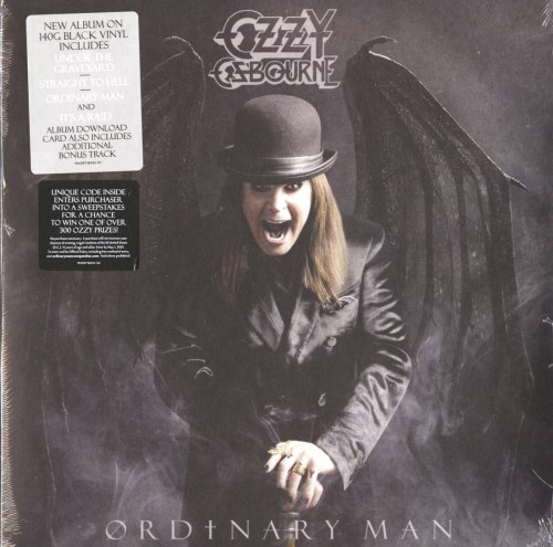 Ozzy Osbourne - Ordinary Man - 140 Gram, Black Vinyl, LP, Epic, 2020