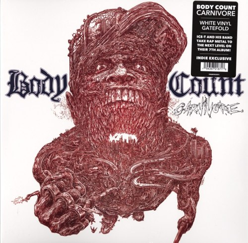 Body Count - Carnivore - Limited Edition, White, Colored Vinyl, LP, Century Media UK, 2020