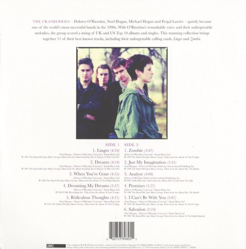 The Cranberries - Dreams: The Collection - Vinyl, LP, Spectrum Audio Uk, Import, 2020